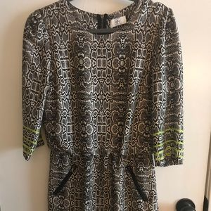 Dolce Vita snake-print dress